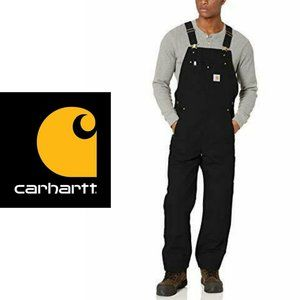 Carhartt Duck Bib Overalls - 48 x 32
